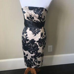 White House Black Market dressy strapless  dress